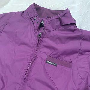 Purple Members only jacket